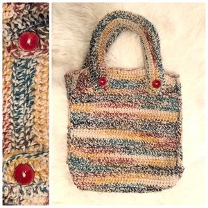 Very Unique Crochet Tote XL